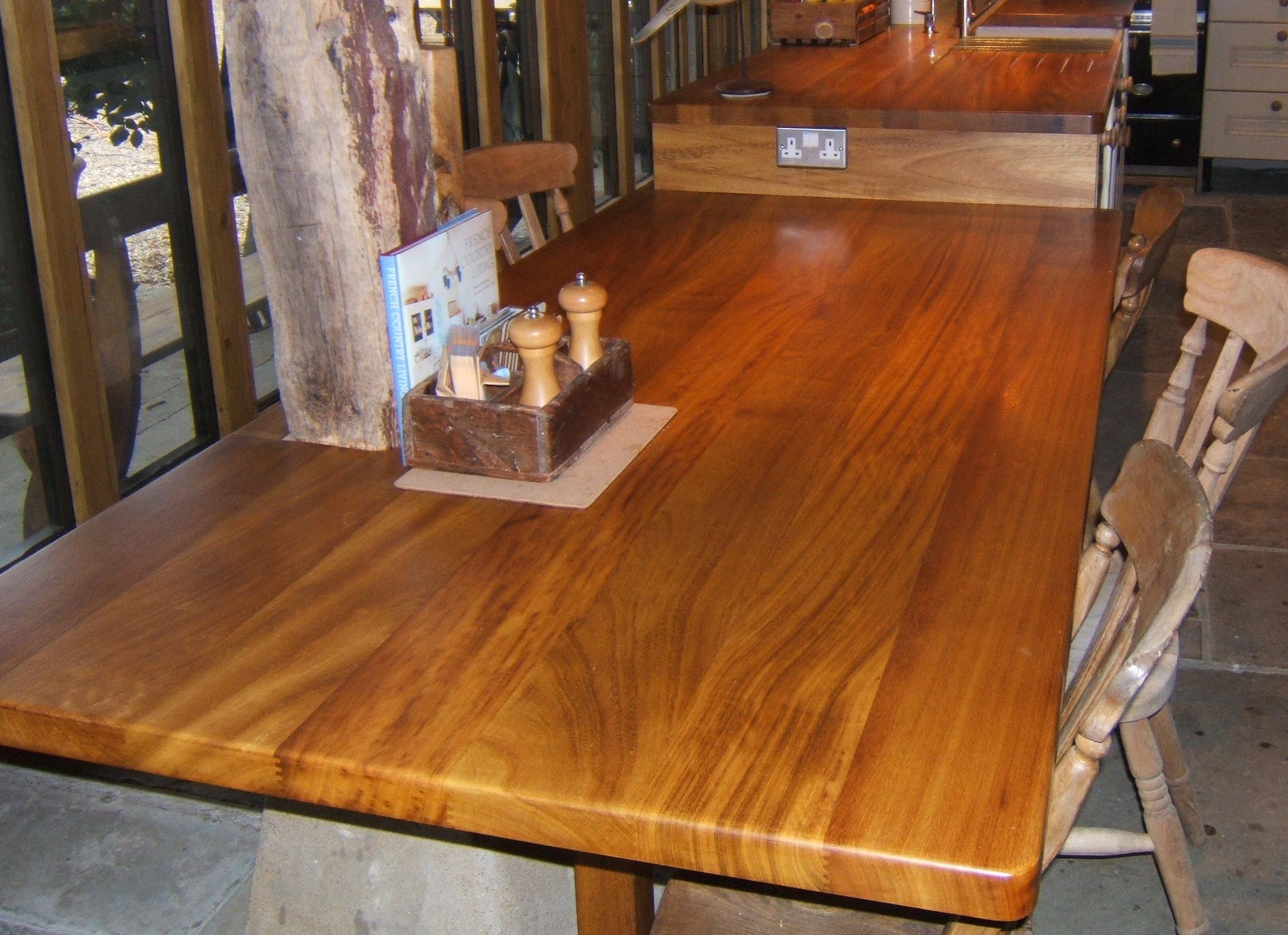 solid hardwood worktops a natural part of your kitchen. Black Bedroom Furniture Sets. Home Design Ideas