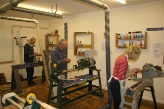 Woodturning Course 021