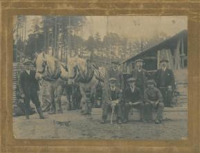Sawmill Severals road midhurst 1912_1918